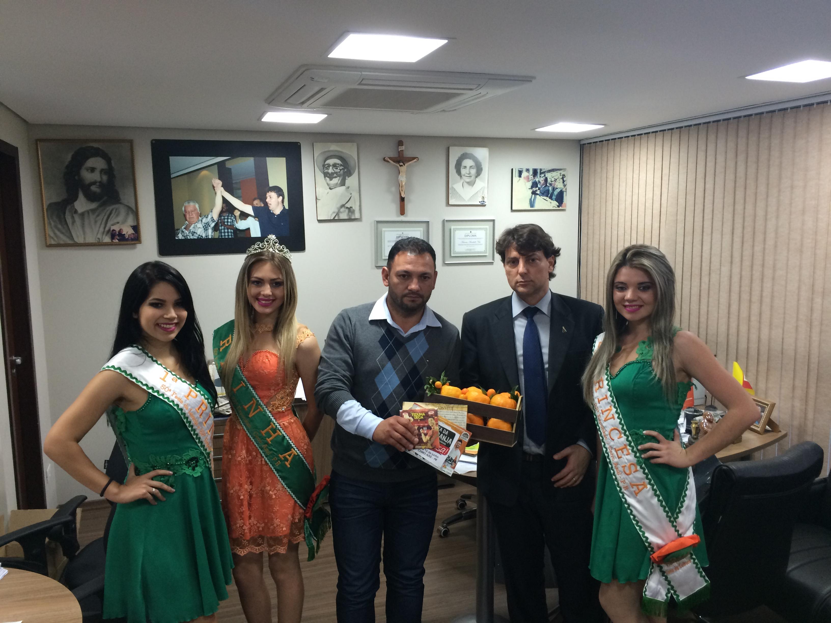Anibelli Neto recebe convite para 50ª Festa da Laranja e 22ª Exponkan