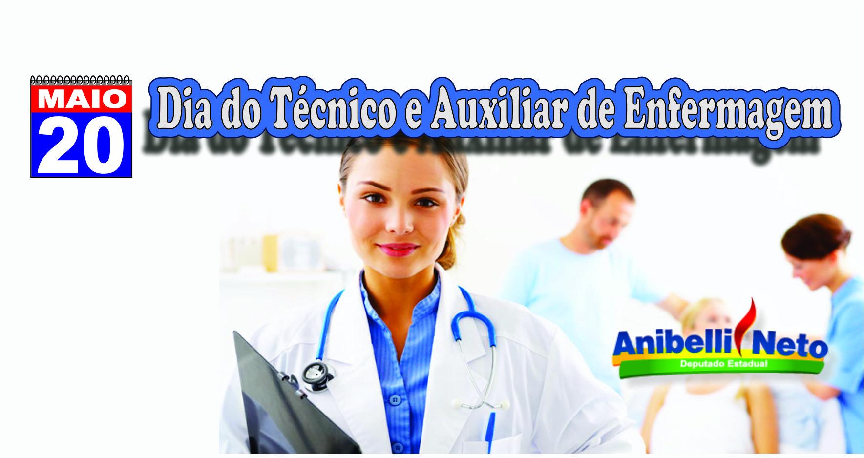 Dia Nacional do Técnico e Auxiliar de Enfermagem