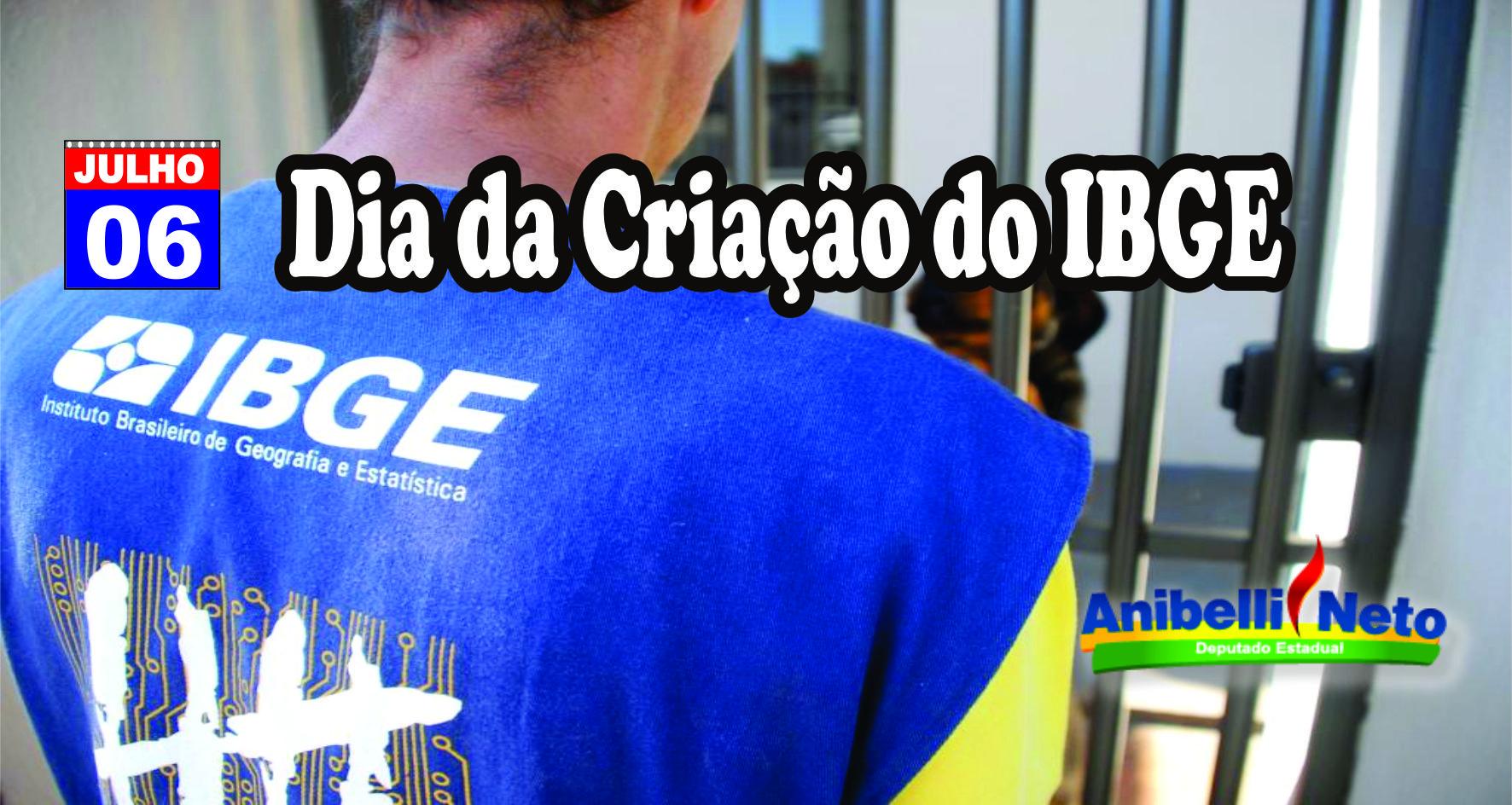 Dia da criação do IBGE