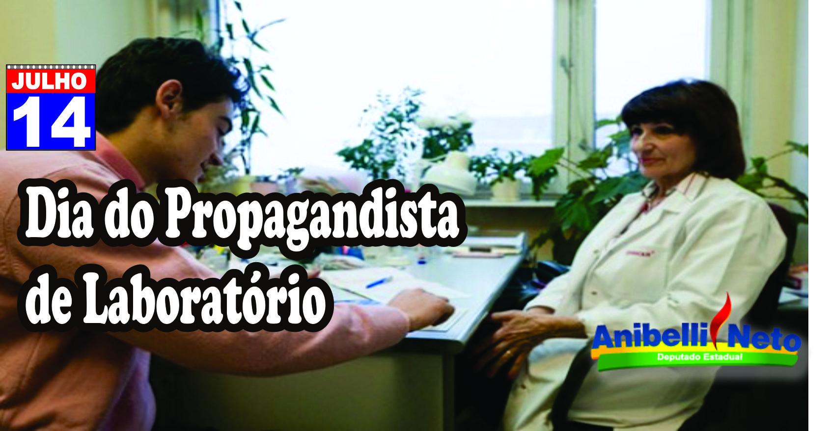 Dia do Propagandista de Laboratório
