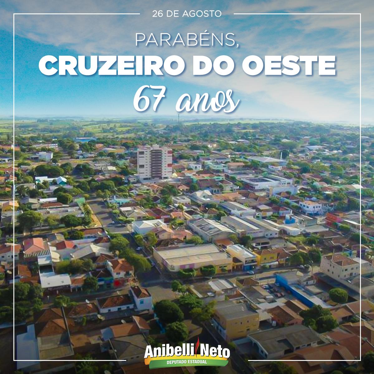 Histórico de Cruzeiro do Oeste