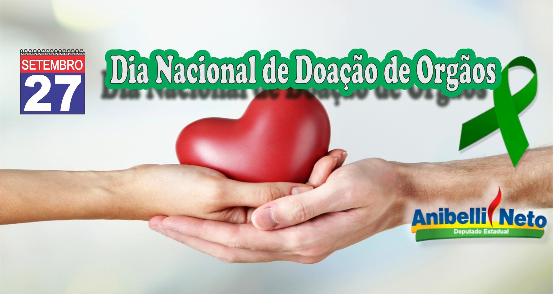 Dia Nacional de Doação de Órgãos