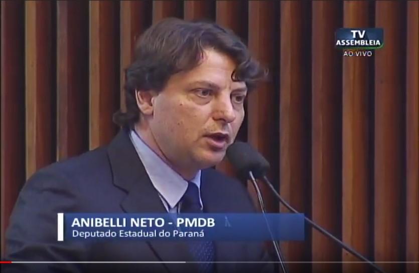 Anibelli Neto destaca Expo-Mate em São Mateus do Sul.