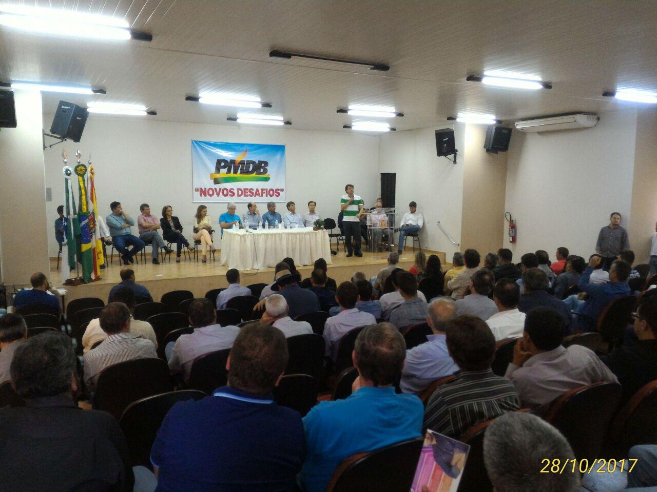 Encontro Regional do PMDB acontece em Santa Mariana.