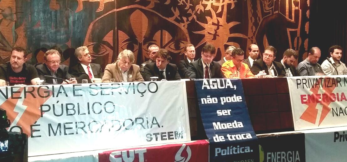 Anibelli Neto participou da Audiência Pública para avaliar possíveis impactos da proposta de privatização do setor energético.