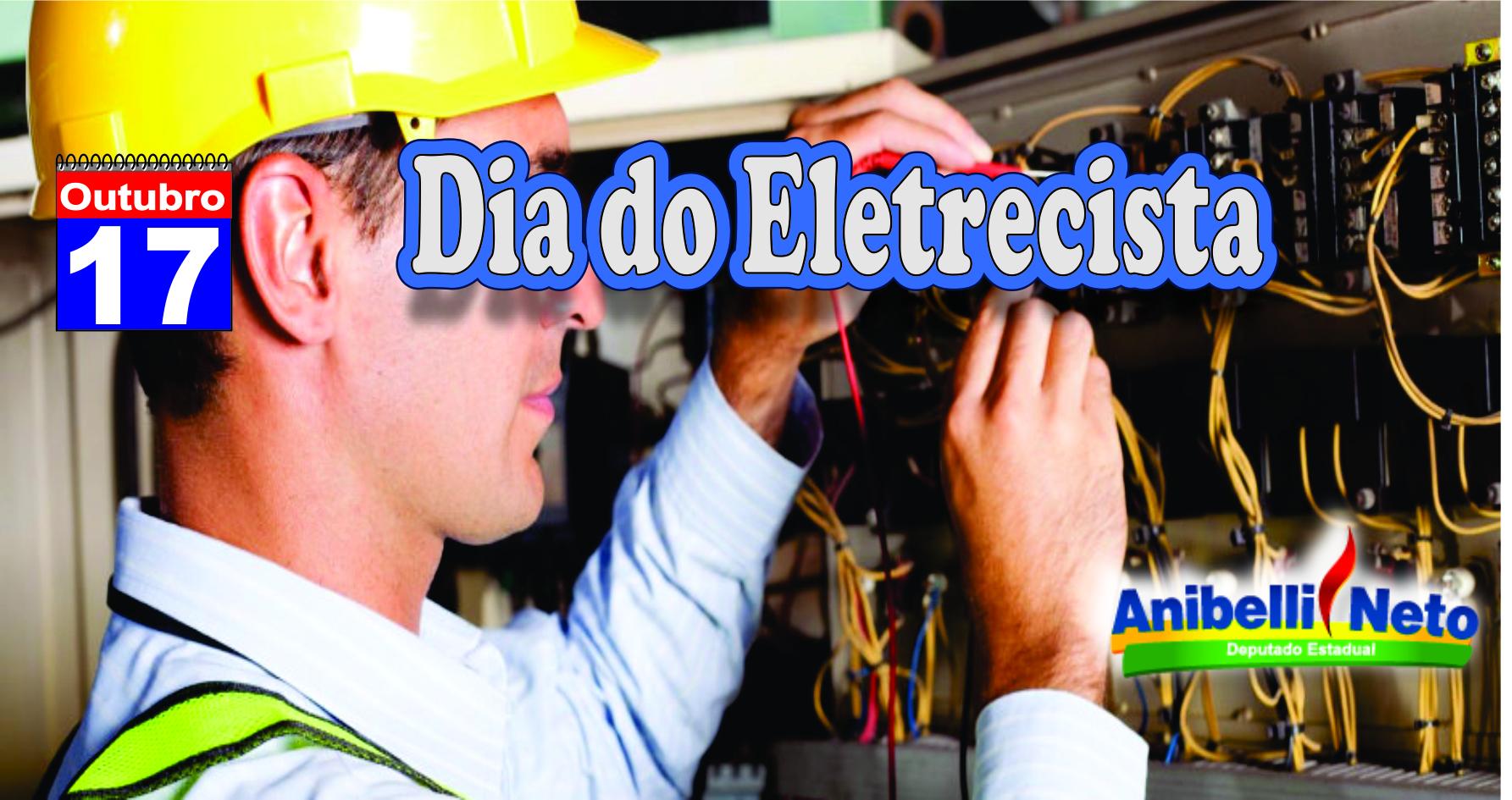 Dia do Eletricista.