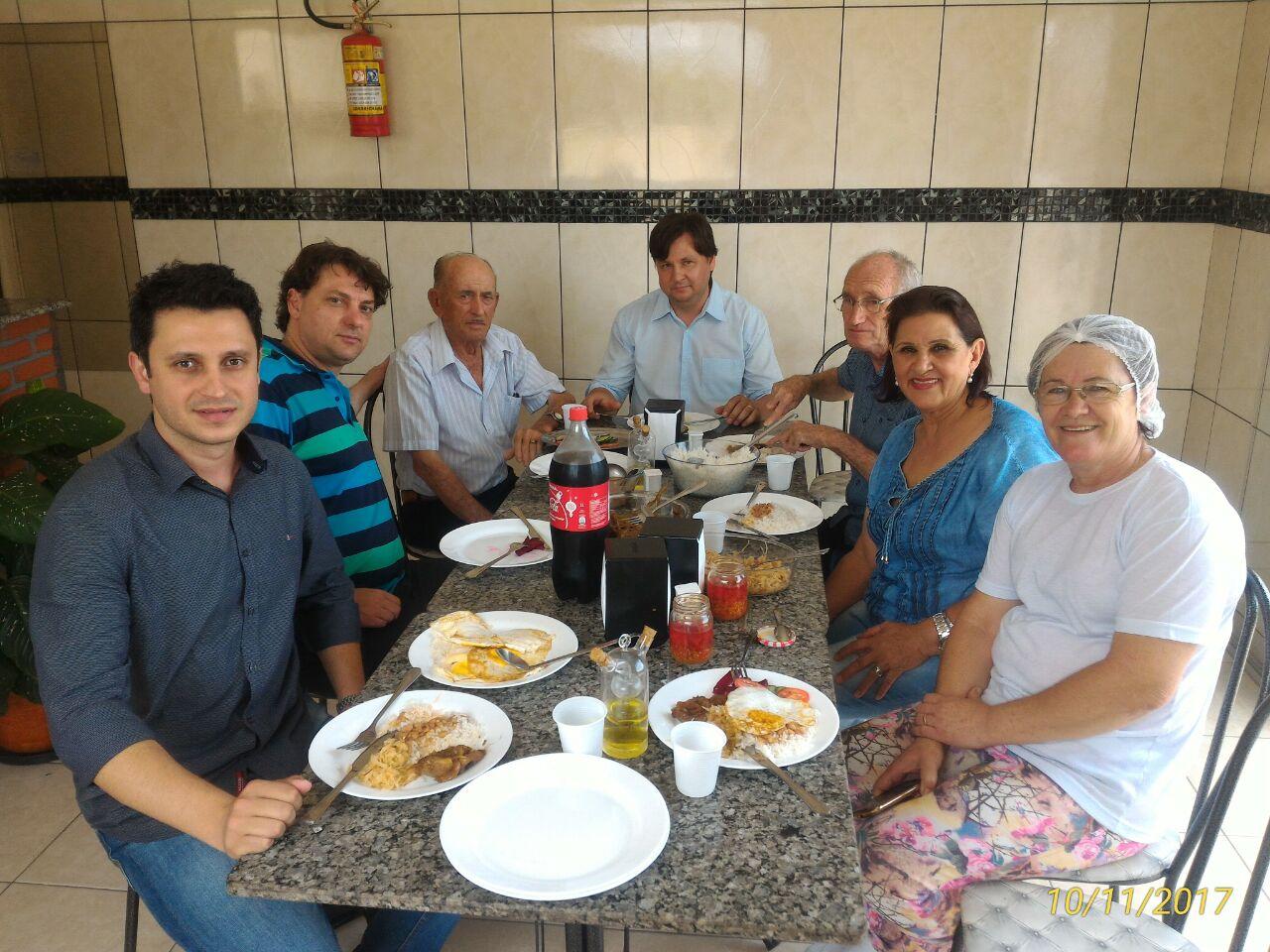 Anibelli Neto visita o amigo prefeito Rodrigo do PMDB de Ourizona