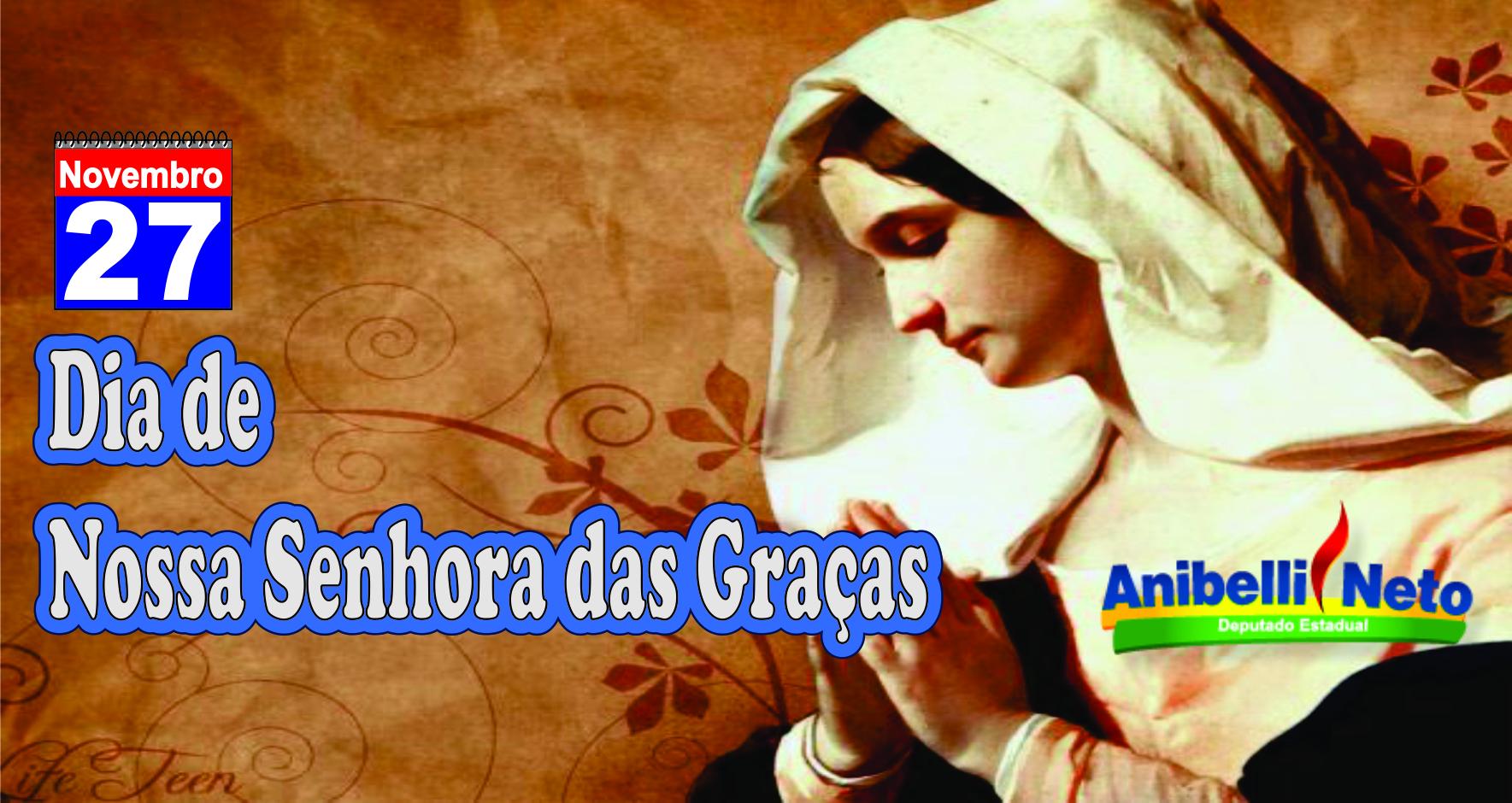 Dia de Nossa Senhora das Graças