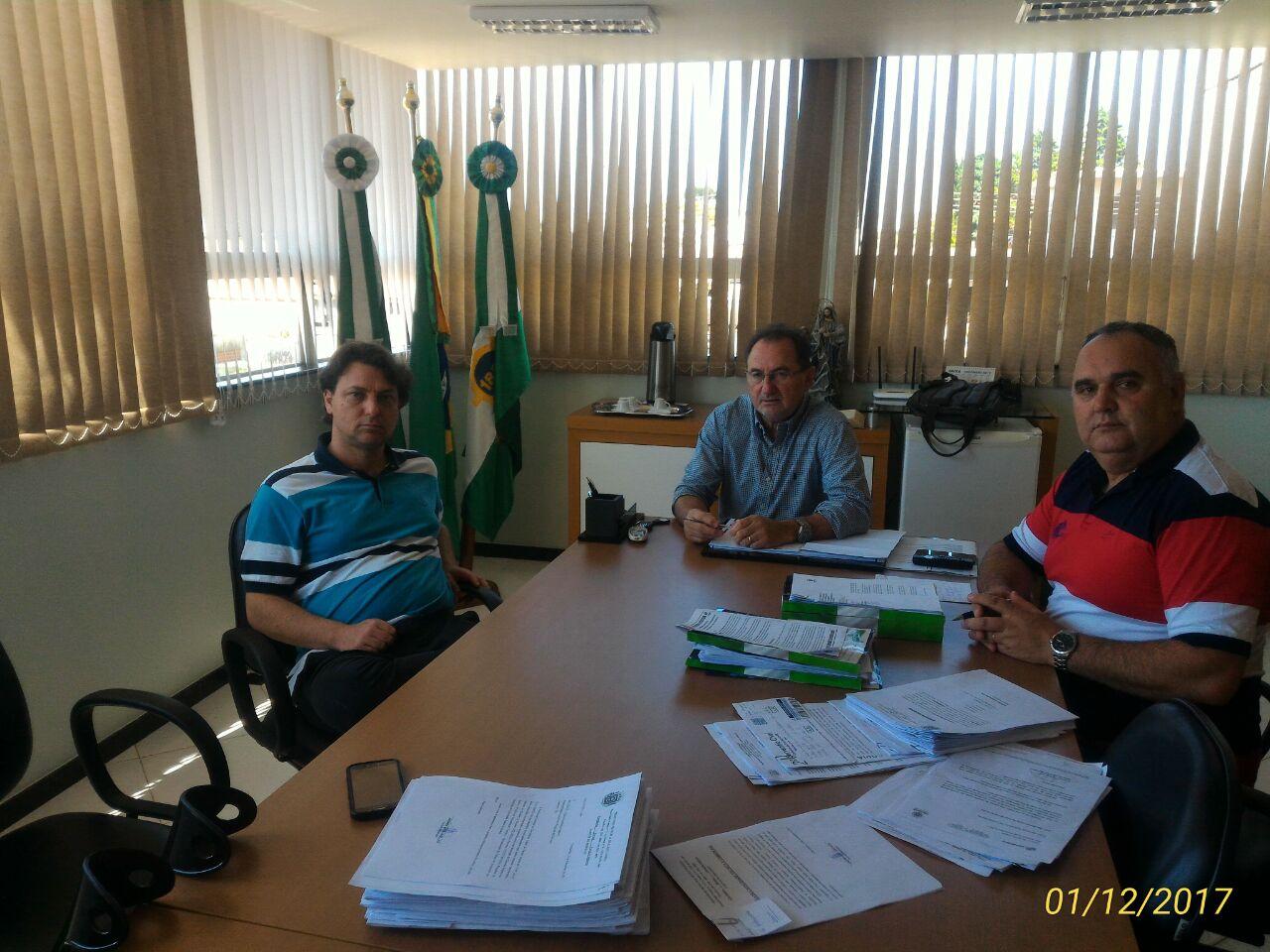 Anibelli visita Prefeitura de Clevelândia