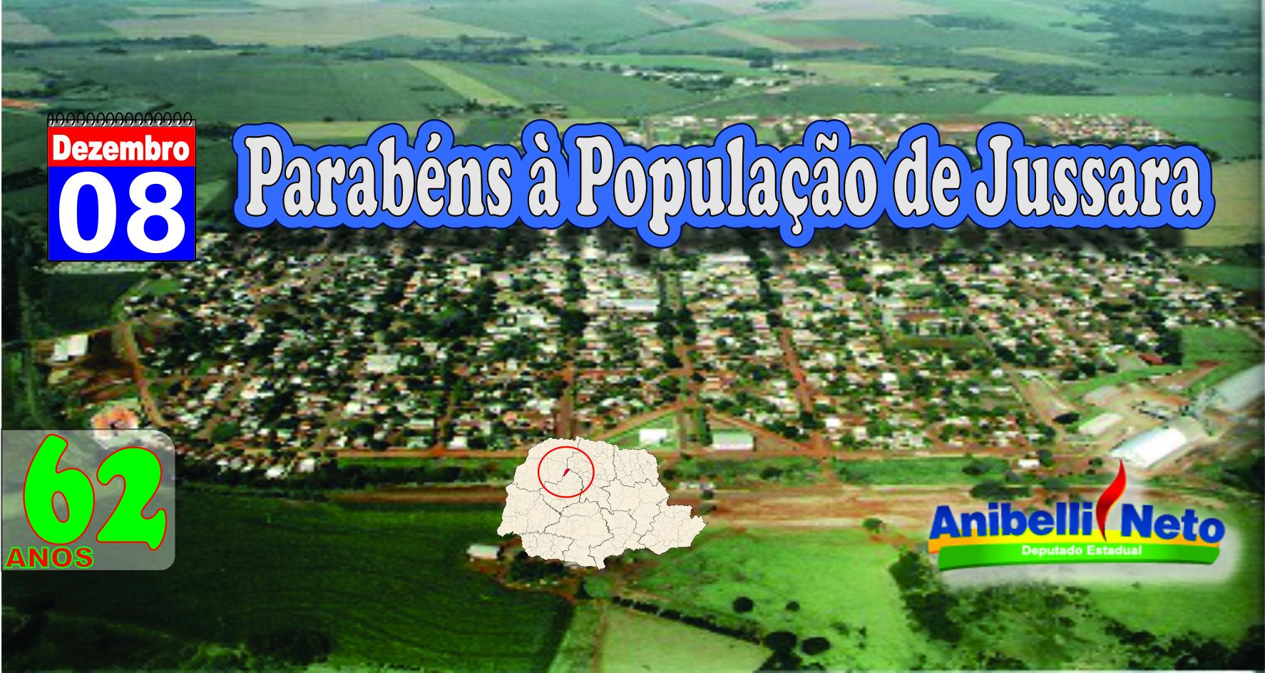 Parabéns à População de Jussara