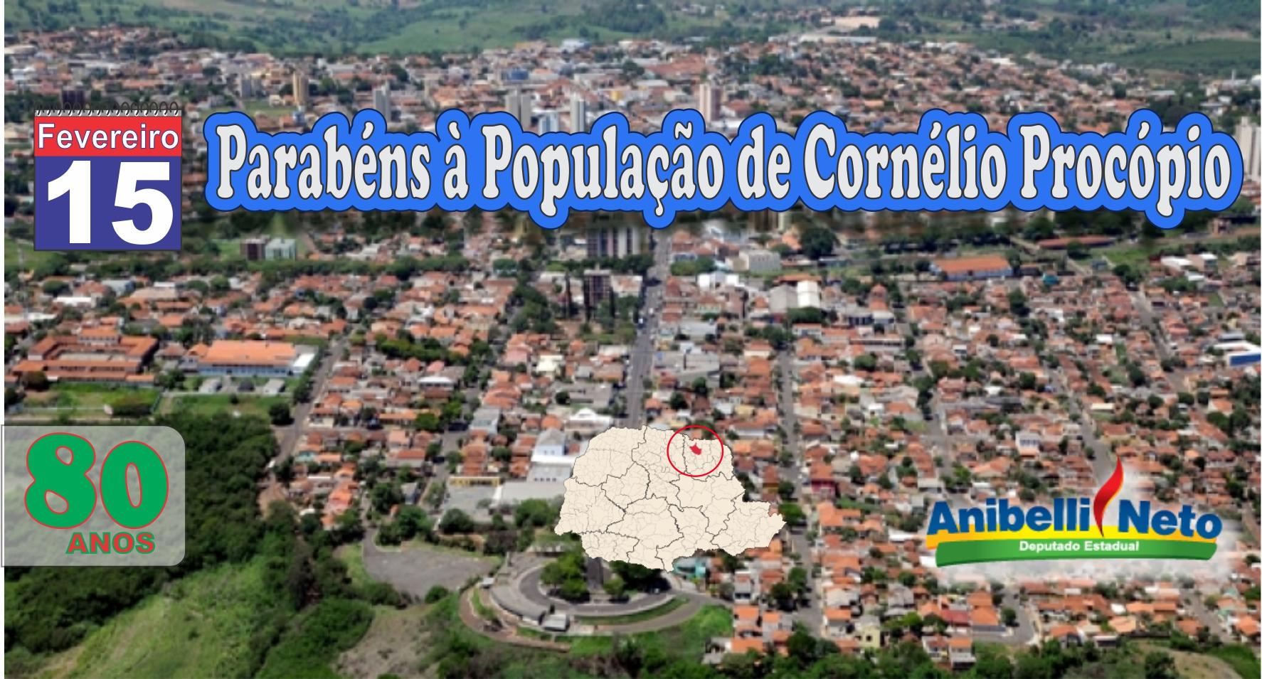 Parabéns à População de Cornélio Procópio.