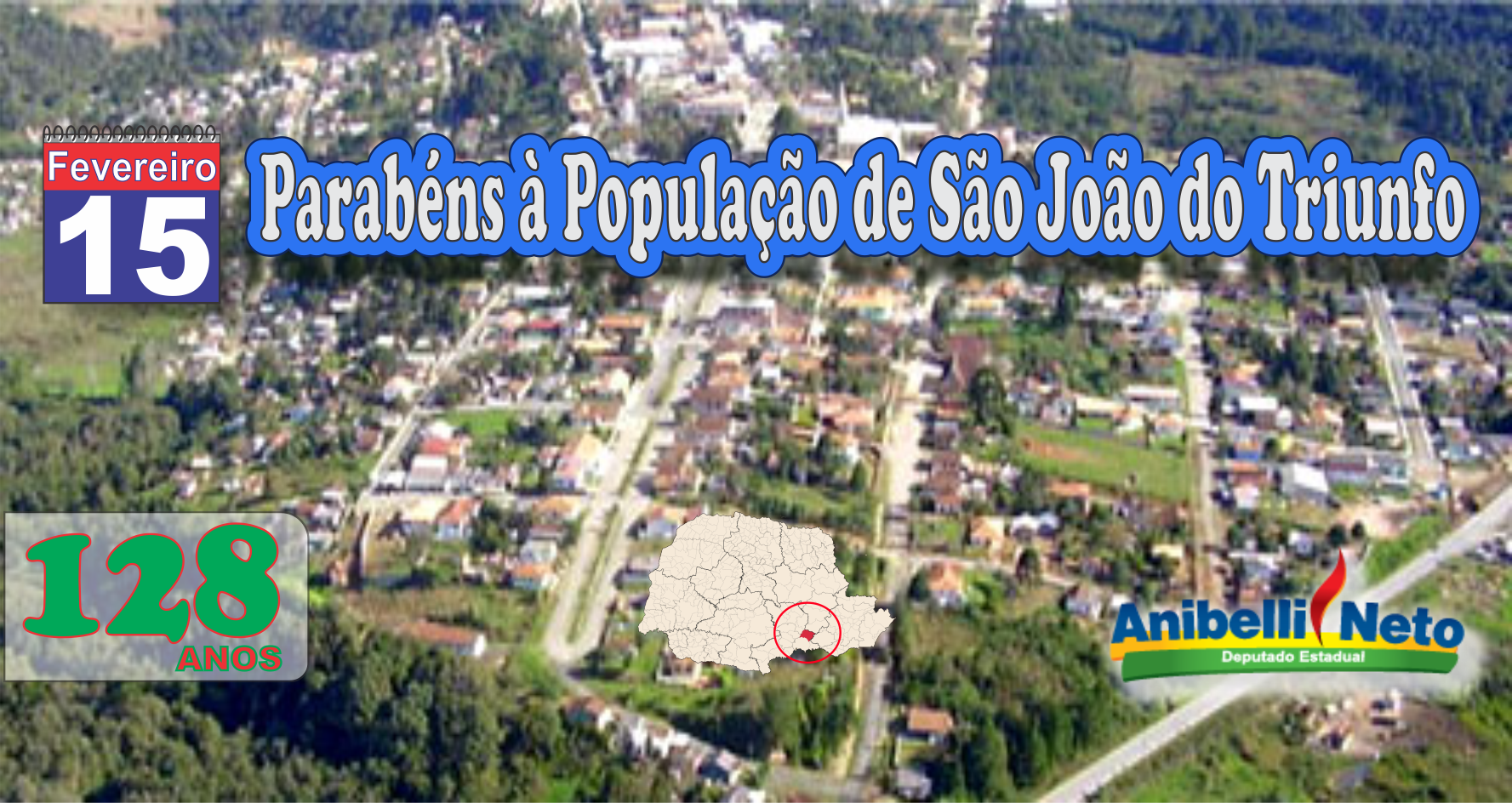 Parabéns à População de São João do Triunfo