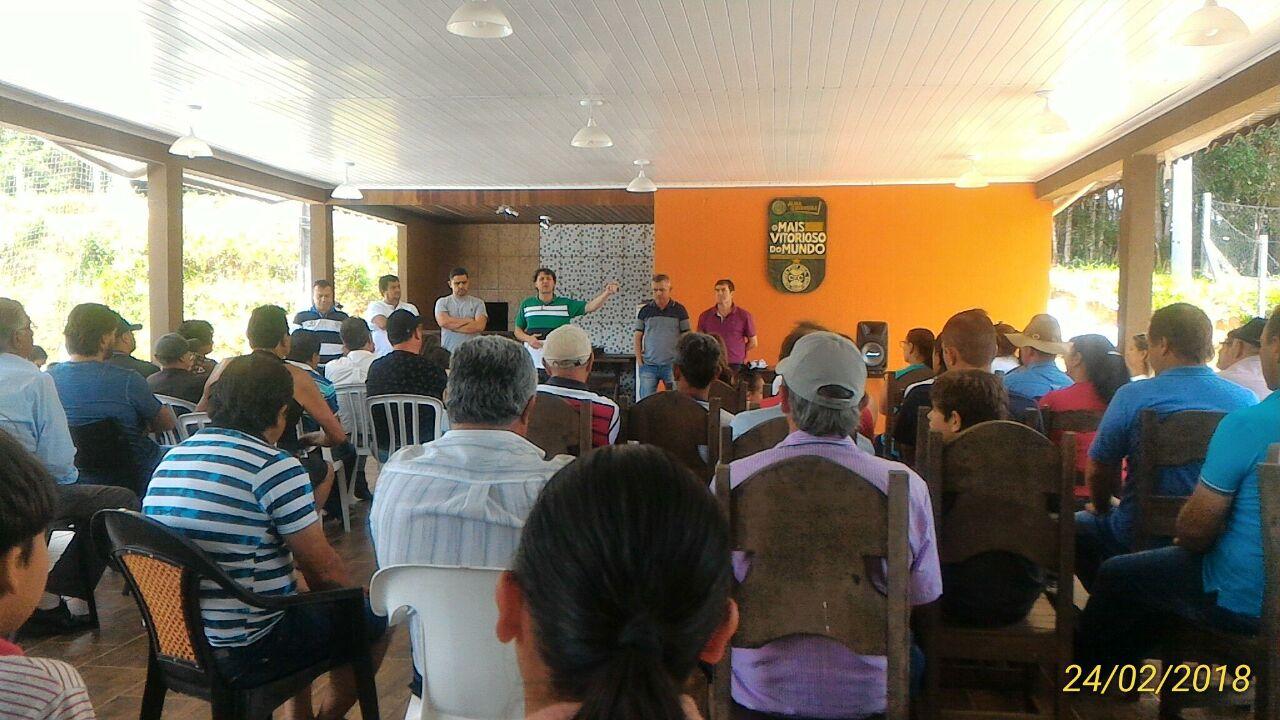 Em Quitandinha Anibelli Neto trabalha para fortalecer o MDB.