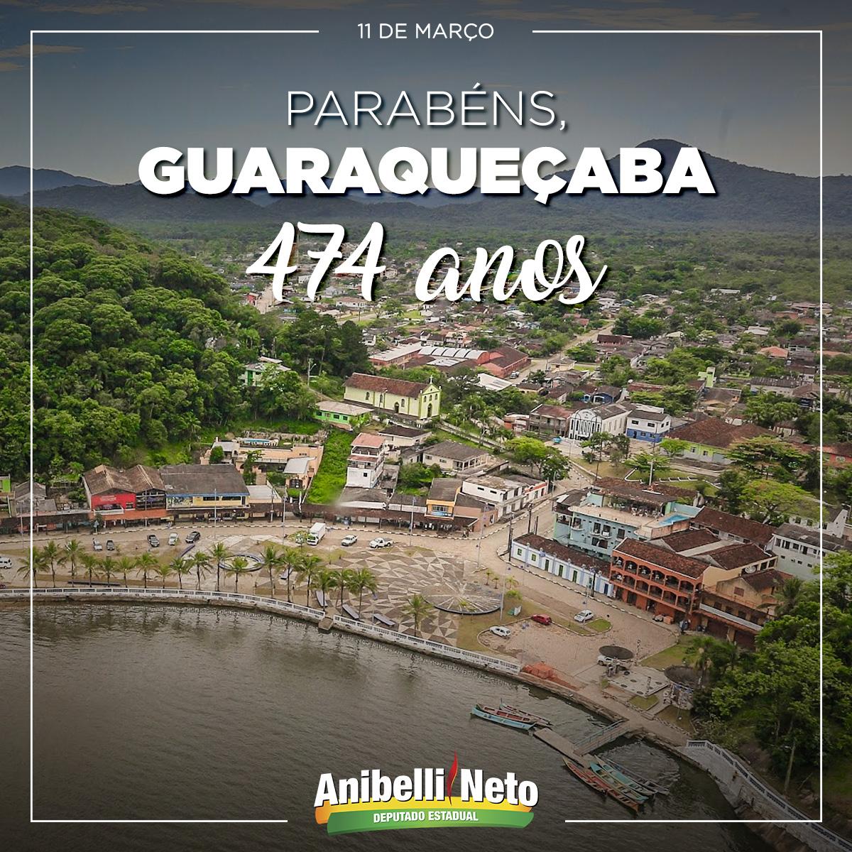 Parabéns à População de Guaraqueçaba
