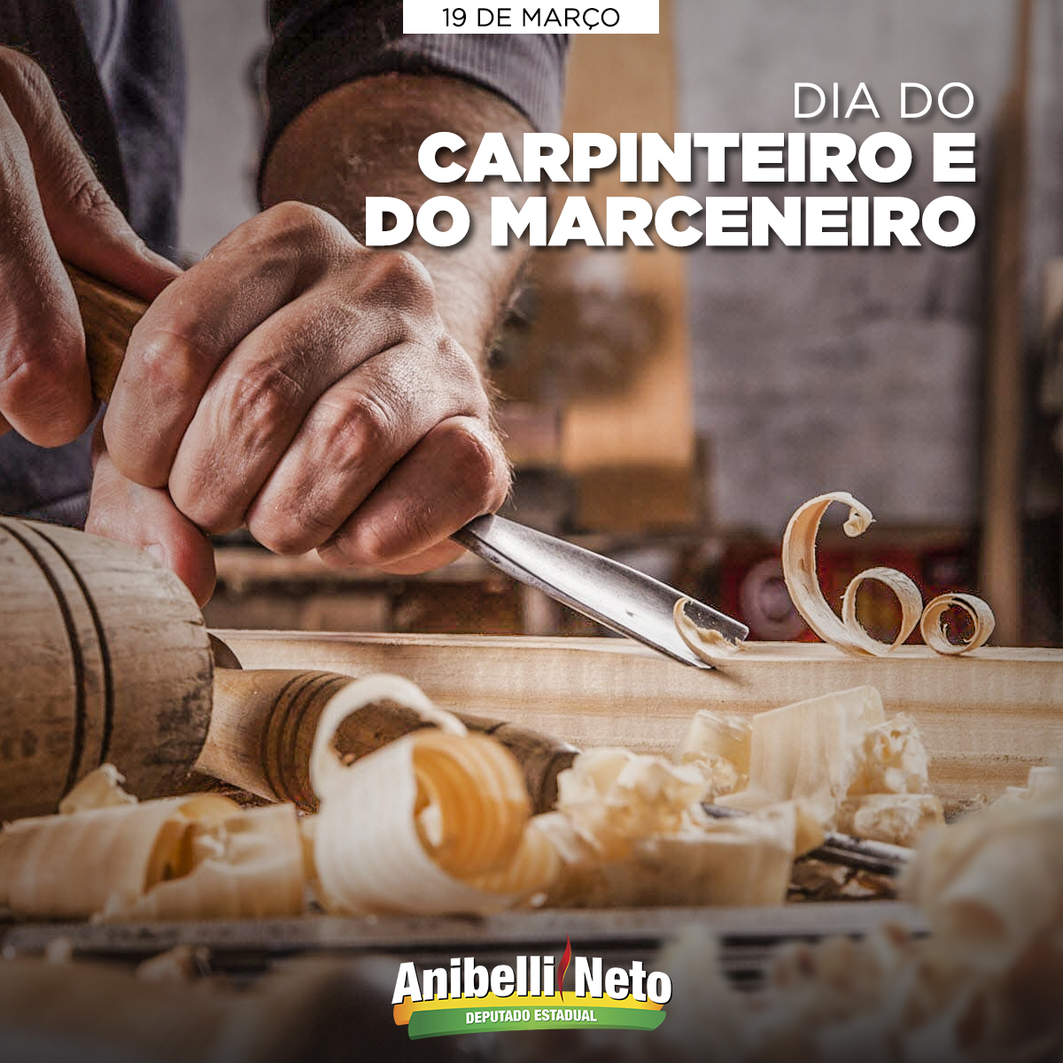 Dia do Carpinteiro e do Marceneiro