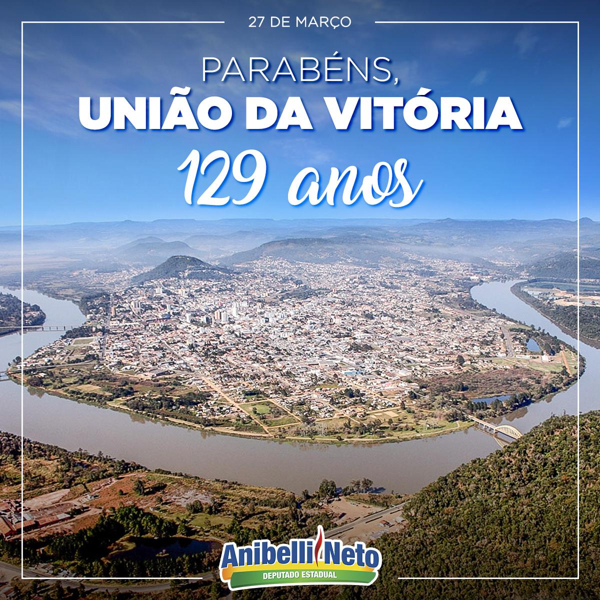 Parabéns à População de União da Vitória