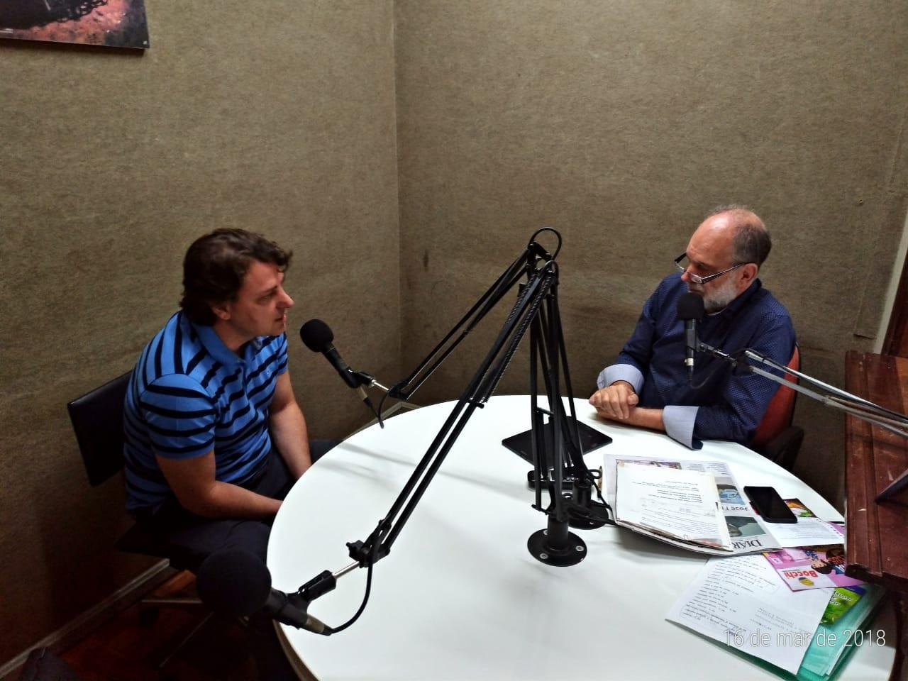 Rádio Progresso de Clevelândia entrevista Deputado Anibelli Neto