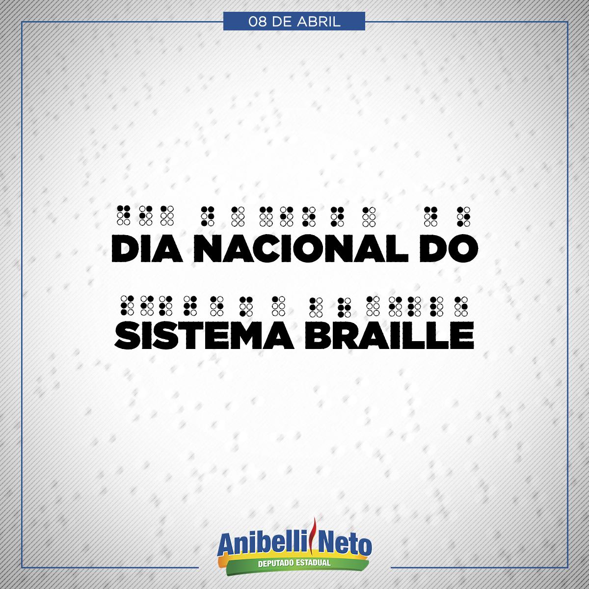 Dia Nacional do Sistema Braille