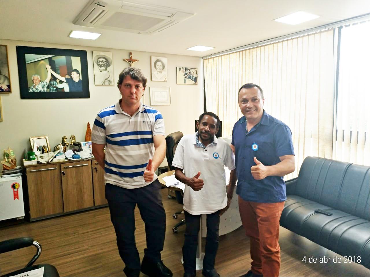 Anibelli recebe visita dos Amigos de Quitandinha