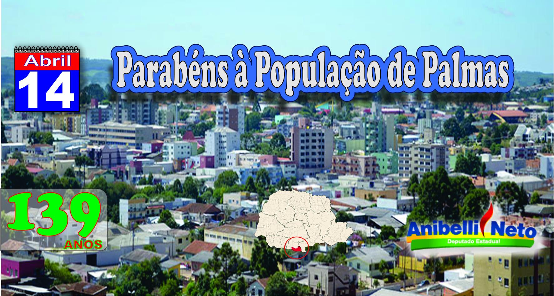 Parabéns à População de Palmas