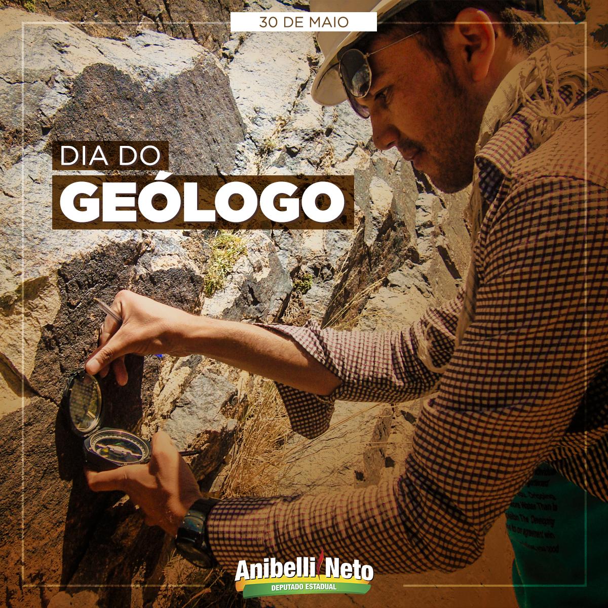 Dia do Geólogo