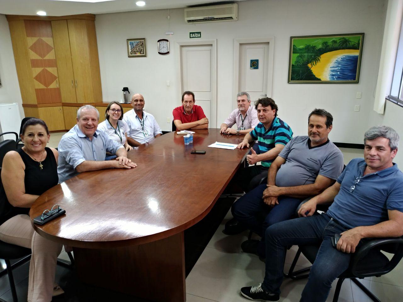 Anibelli visita o prefeito Raul do Município de Dois Vizinhos