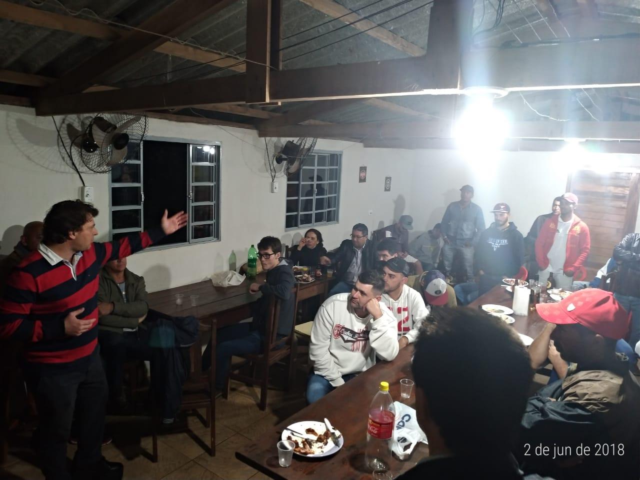 Deputado Anibelli no município de Nova Esperança