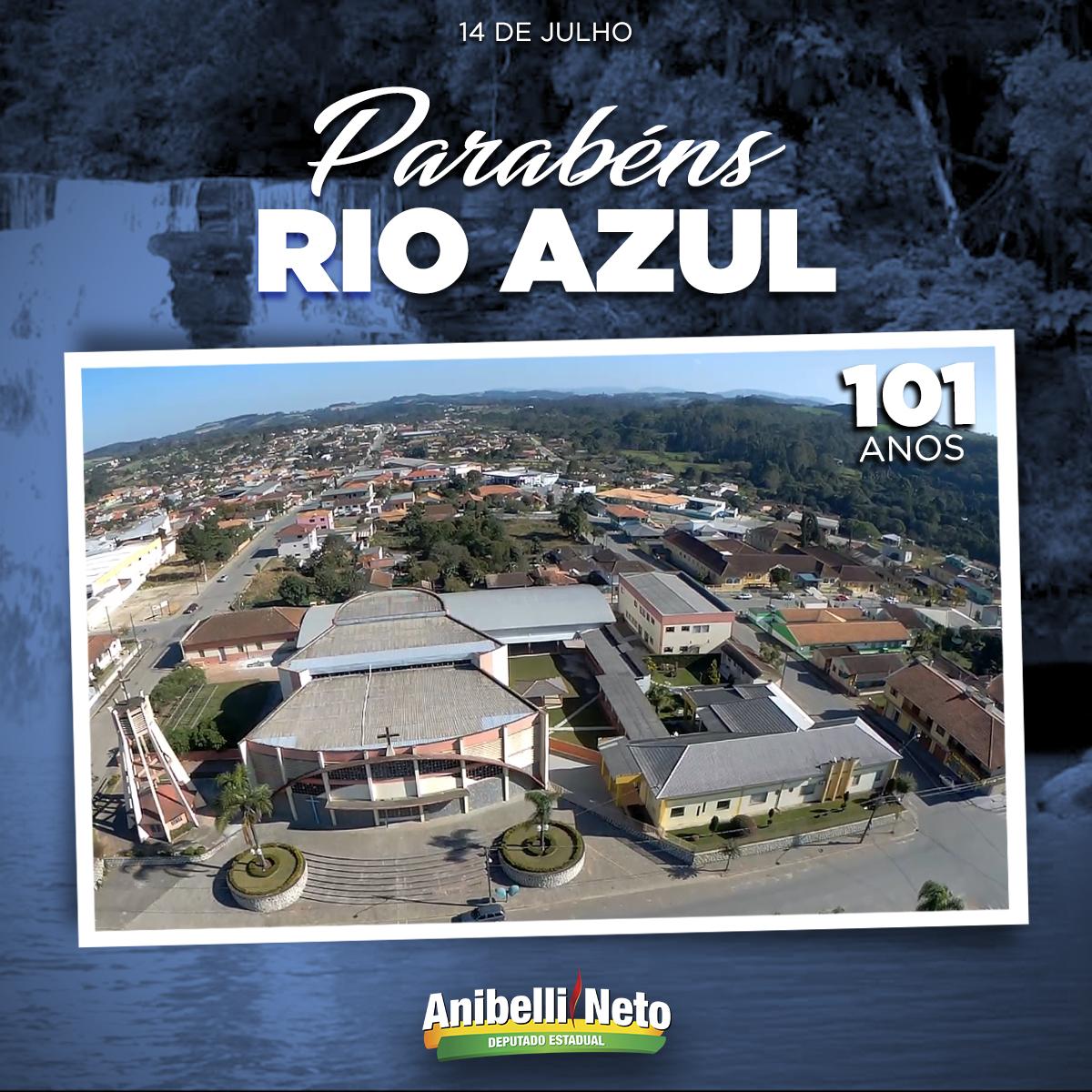 História do Rio Azul