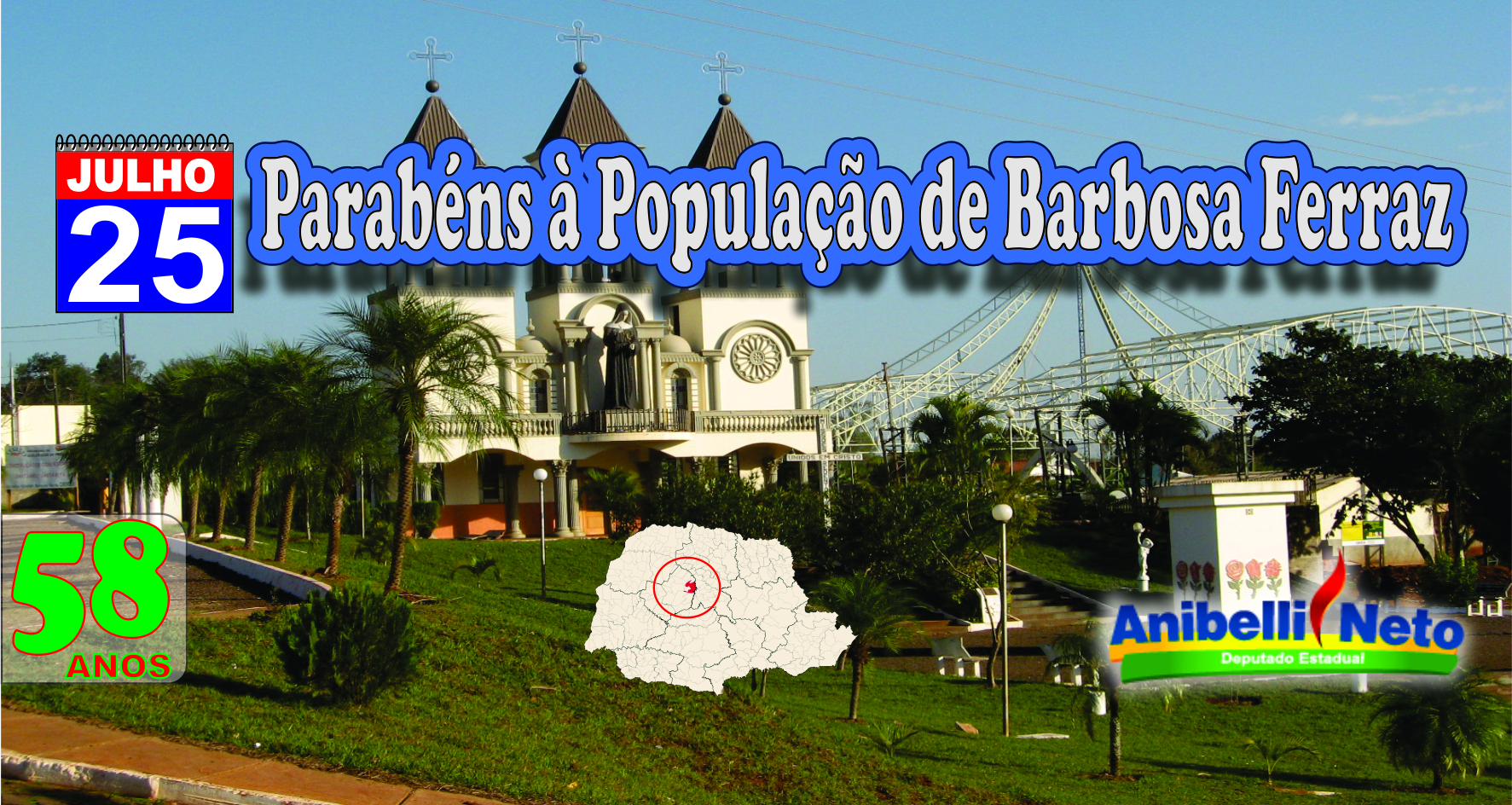 História Do Município De Barbosa Ferraz