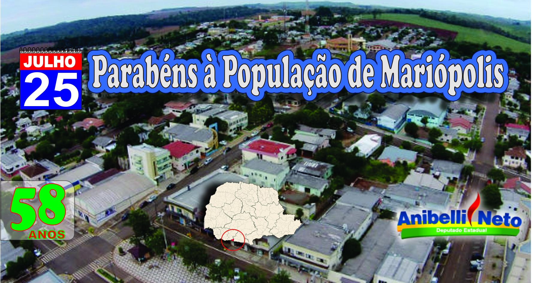 Mariópolis Paraná fonte: anibelli.com.br