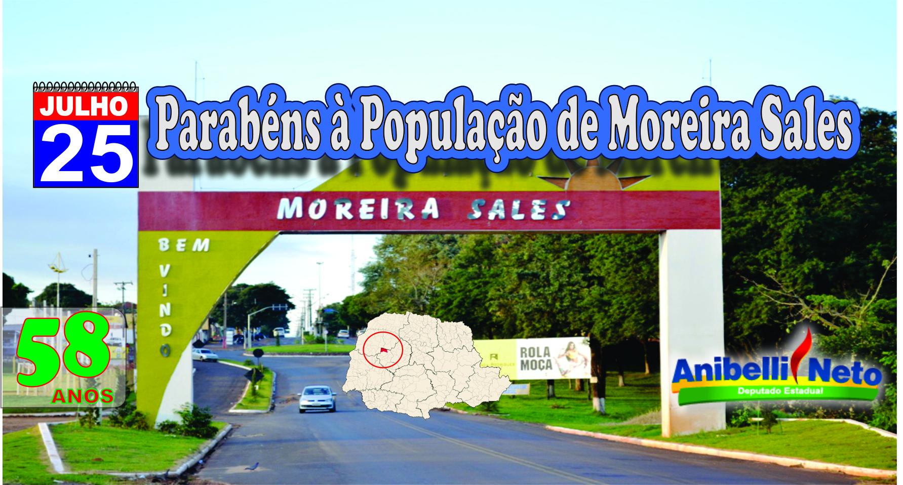 HISTÓRIA DO MUNICÍPIO DE MOREIRA SALES