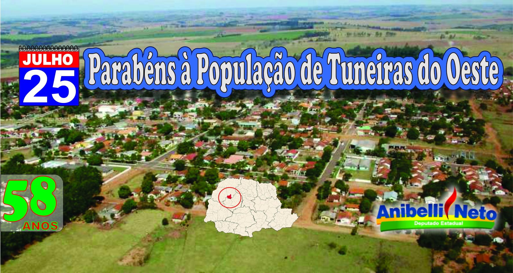 Histórico de Tuneiras do Oeste