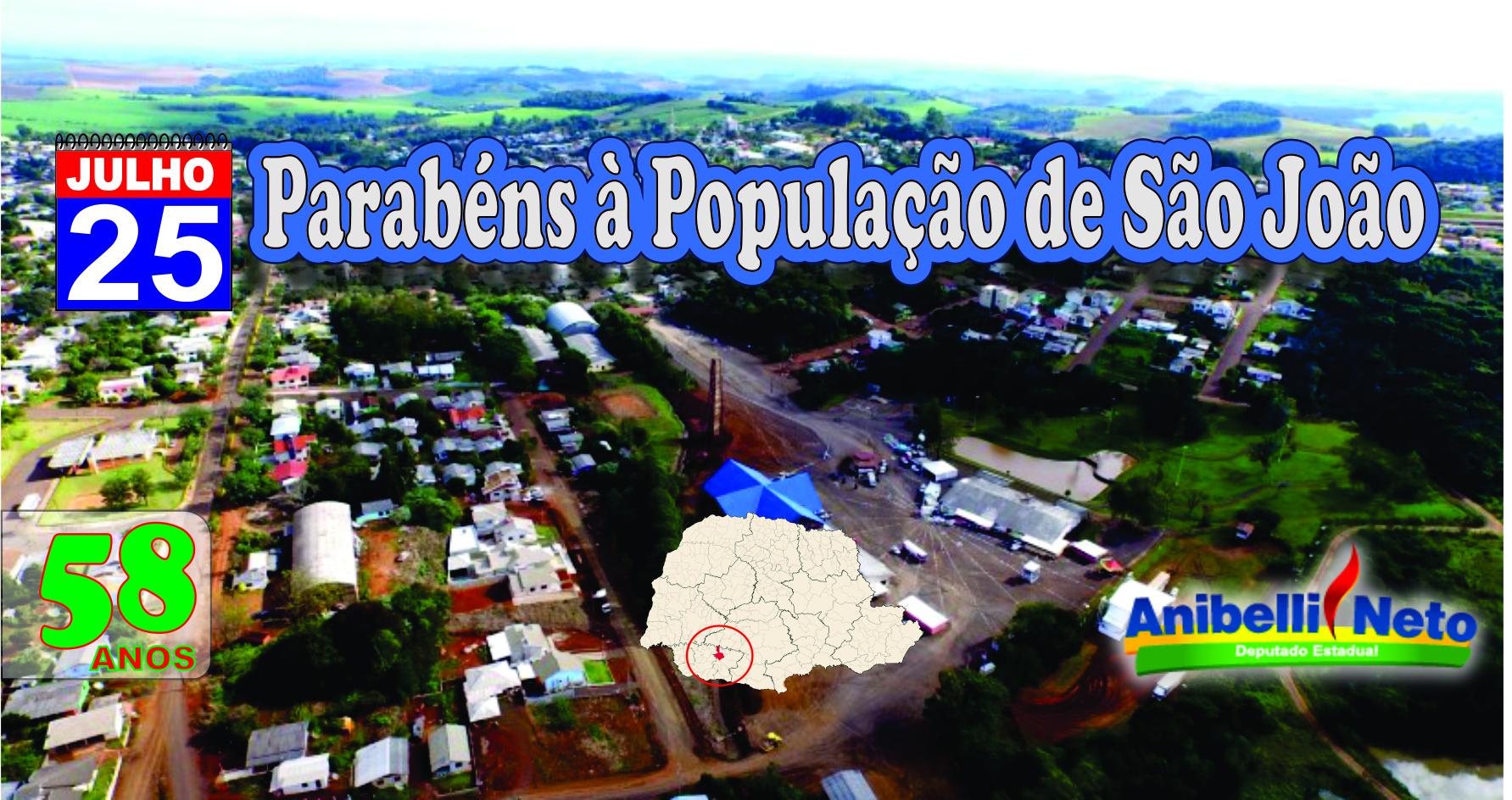 História da Cidade de São João