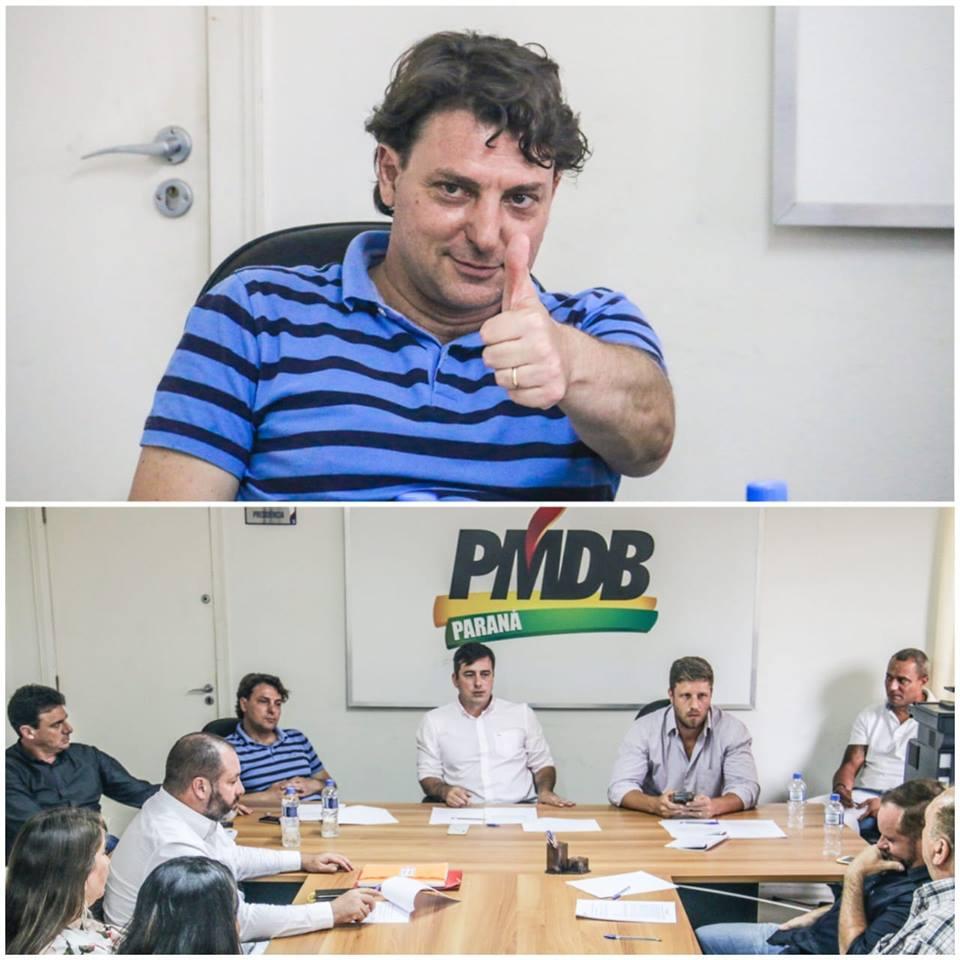 Reunião da Executiva do MDB do Paraná
