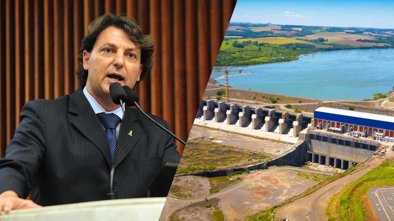 Projeto de Anibelli Neto dá nome de Caito Quintana à Usina Hidrelétrica Baixo Iguaçu