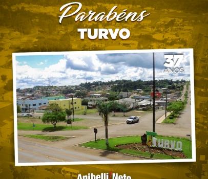 Parabéns à População de Turvo