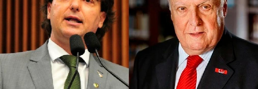 Anibelli Neto presta homenagem a René Dotti