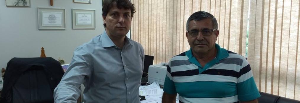Deputado Anibelli Neto recebe Vereador Paulo Pereira