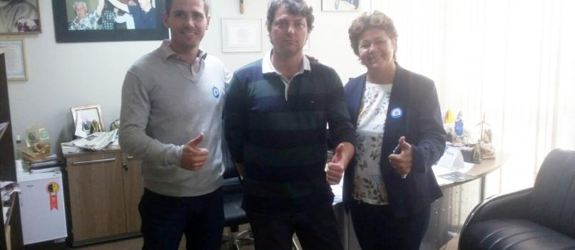 Visita dos amigos do MDB de Pontal do Paraná