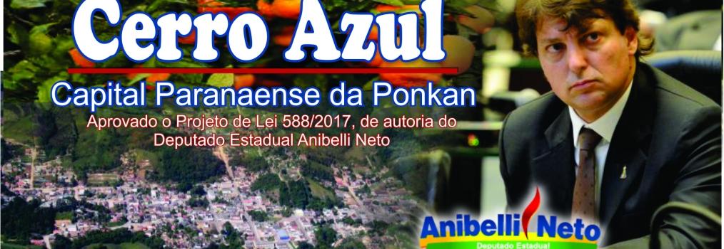 Proposta por Anibelli Neto, lei que concede título de capital paranaense da ponkan ao município de Cerro Azul é aprovada na Alep