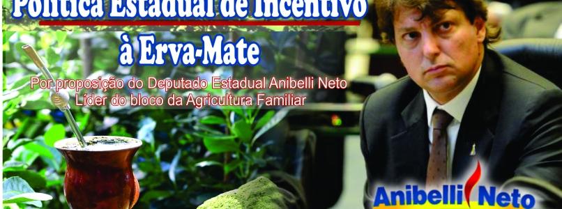 Política Estadual de incentivo a Erva-Mate é aprovada em 1 ª discussão na ALEP