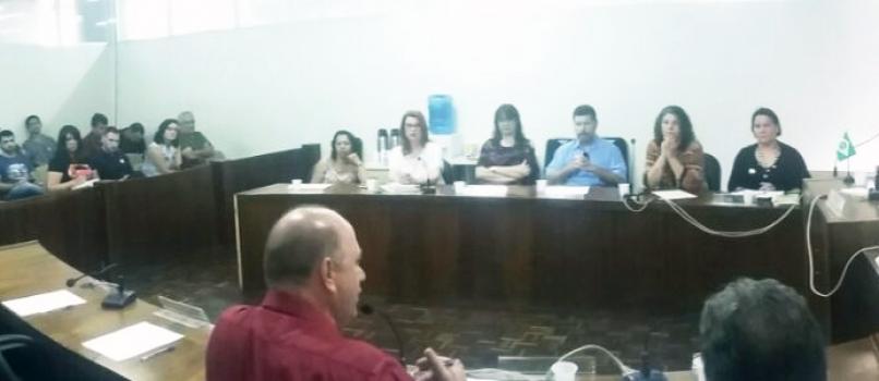 Anibelli Neto participou da reunião da Comissão de Educação que reuniu Fundepar e APP- Sindicato para debater Fundo Rotativo. .