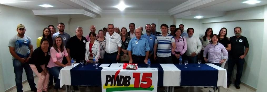 Anibelli Neto participa de reunião do MDB em Guarapuava.