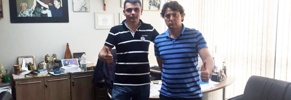 Anibelli recebe visita do amigo vereador Eduardo de Cerro Azul