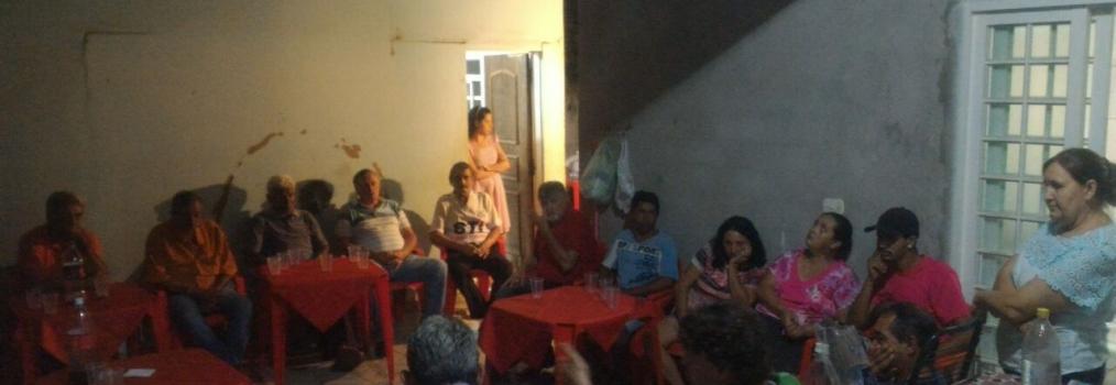 Anibelli Neto visita amiga Nicinha em Presidente Castelo Branco.