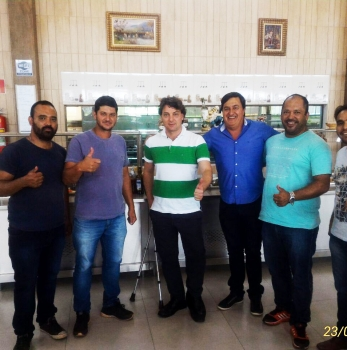 Encontro com grandes amigos de Mauá da Serra