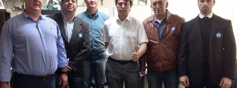 Anibelli Neto recebe técnicos do setor energético do Paraná.