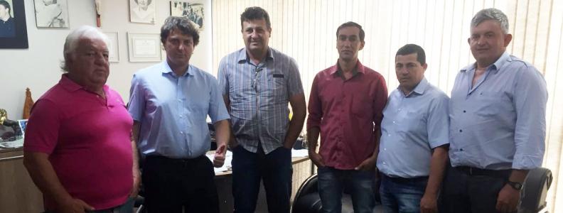 Anibelli Neto recebe vereadores de Coronel Domingos Soares.