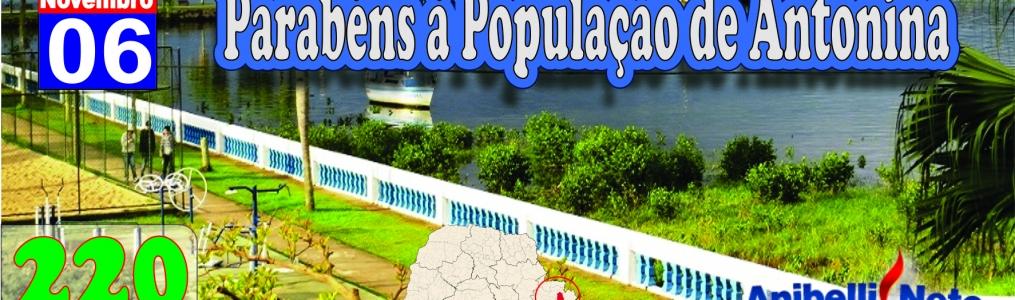 Parabéns à População de Antonina