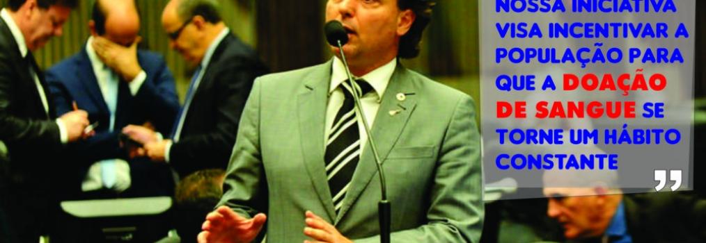 Assembleia aprova projeto de Anibelli que institui campanha de conscientização e incentivo à doação de sangue
